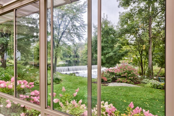 sliding windows open sunroom