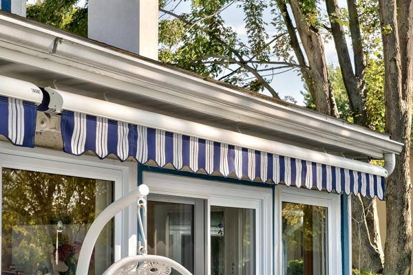 soffit mount closed awning