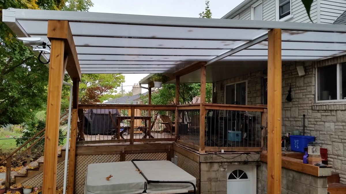DIY Patio COver