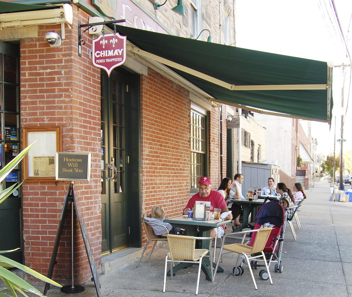 Retractable Awning For Restaurant