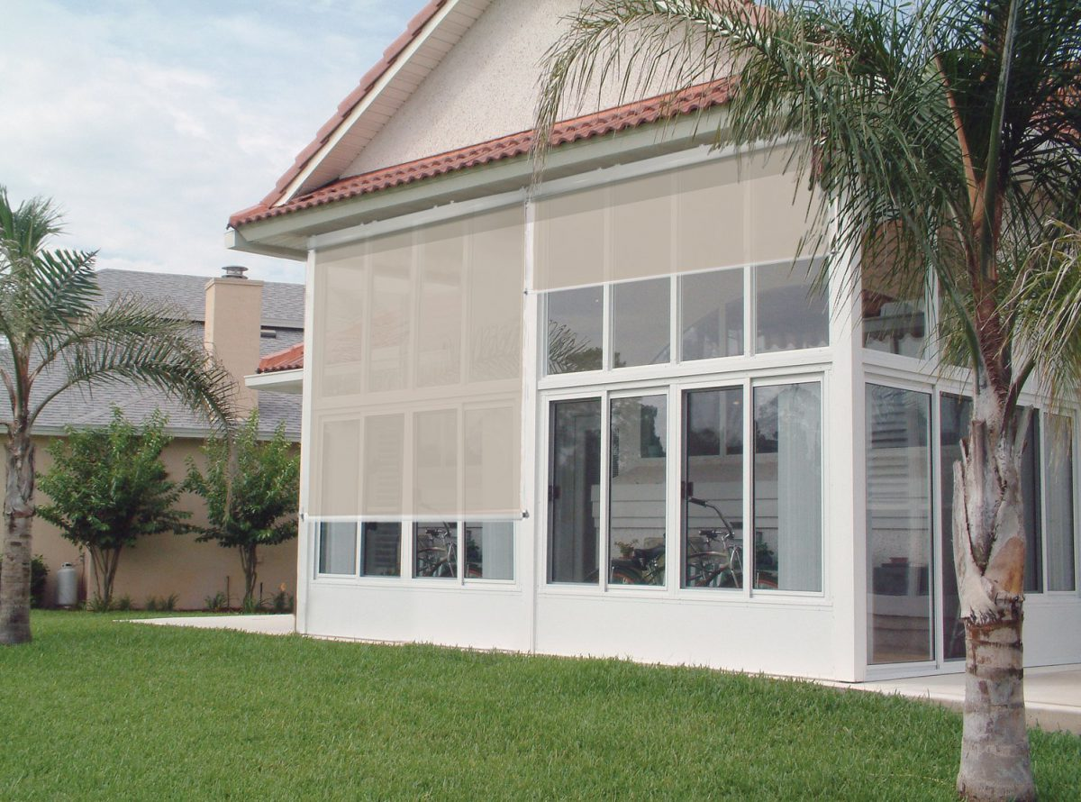 Roll Up Solar Shade