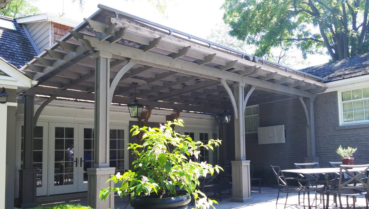 Shade for Your Pergola