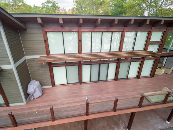 Brown exterior view blinds (1)